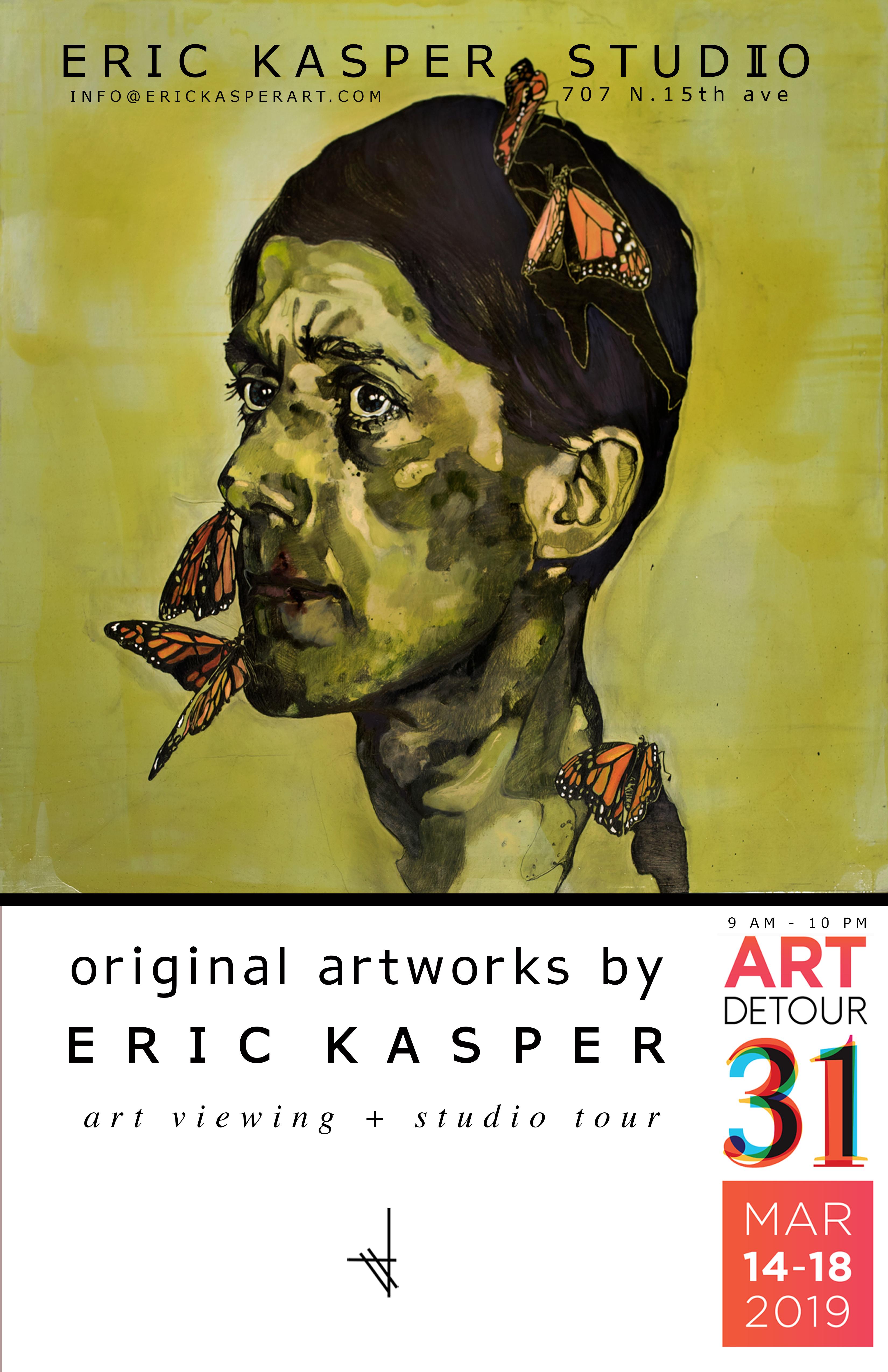 Eric Kasper Art Flier
